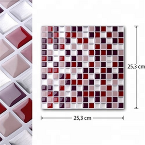 3D Mosaic Tile Self-adhesive Stickers(4 PCS)
