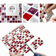 Load image into Gallery viewer, 3D Mosaic Tile Self-adhesive Stickers(4 PCS)