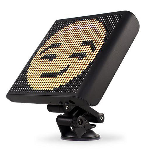 First Voice-Controlled Emoji Car Display