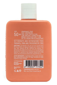 200ml Feel Good Sensitive Sunscreen 50+
