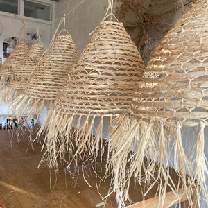 The Paper Mills Studio Handmade Haymarket Shade - Natural