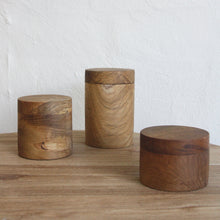 Load image into Gallery viewer, Huba Wooden Canisters