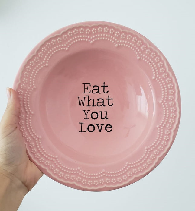 Prato Fundo Eat What You Love