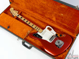 1969 Fender Jaguar Candy Apple Red Maple Neck