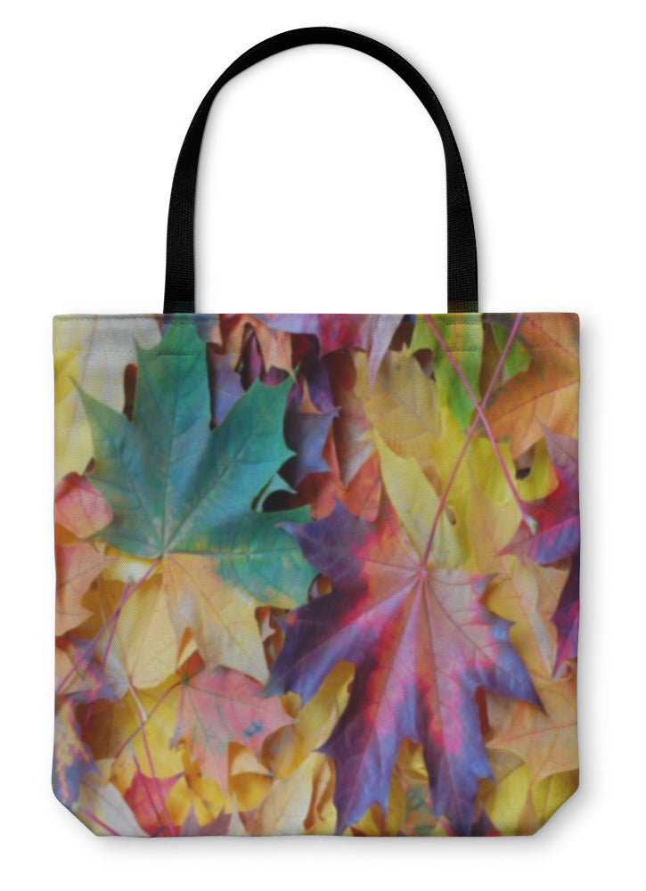 Tote Bag, Leaves