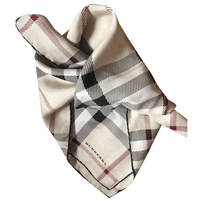 Load image into Gallery viewer, Classic Burberry Silk scarf - RAG REVOLUTION