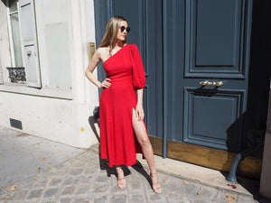 Reformation Lawrence Red Dress - RAG REVOLUTION