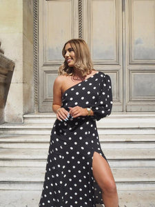 Reformation Lawrence Polka Dot Dress - RAG REVOLUTION