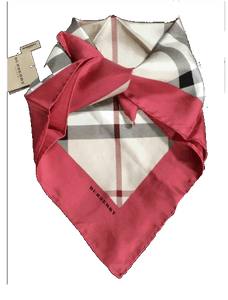 Burberry Silk scarf - RAG REVOLUTION