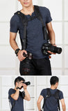 Optodio K Double Shoulder Camera DSLR Strap with Base
