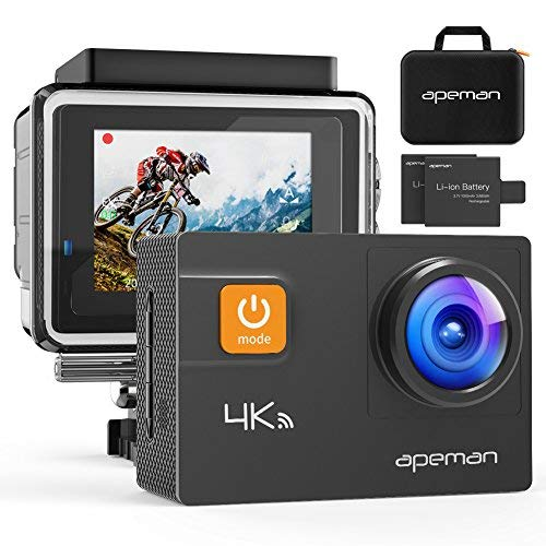 APEMAN 4K 20MP Waterproof Action Camera A80