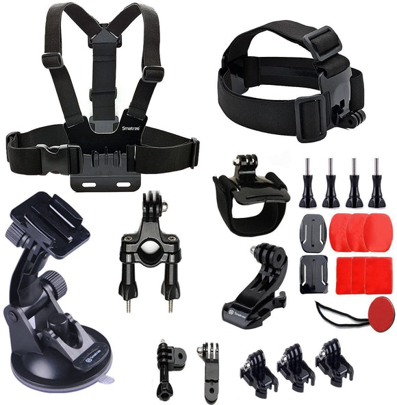 Smatree 25-in-1 Accessories Kit for GoPro Hero 5, 6 and 7