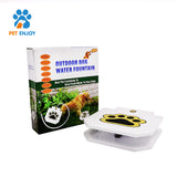 PetEnjoy Dog Push Pedal Water Fountain