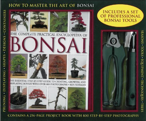 The Complete Practical Encyclopedia of Bonsai Kit with Pruning Tools