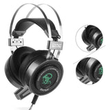 EXAVP EX820 Gaming Headset 3.5mm Sound w USB Lighting and Vibration