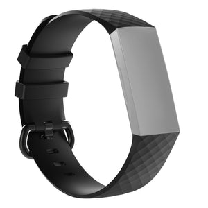 Silicone Replacement Band For Fitbit Charge 3 Wrist Strap