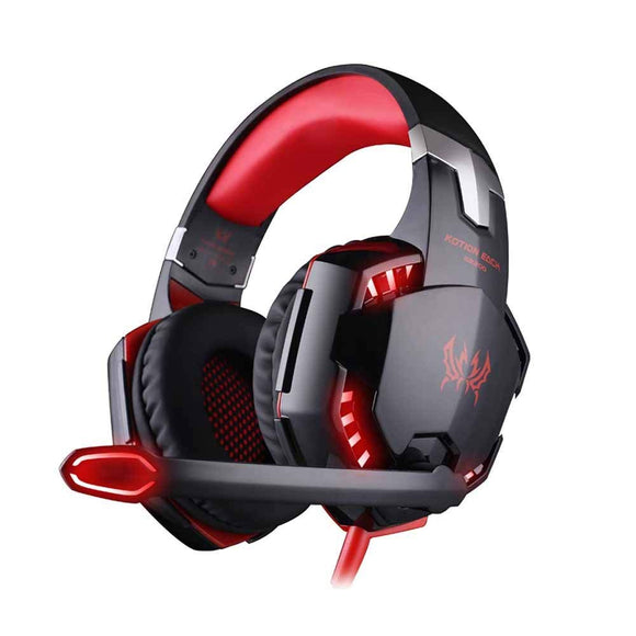 KOTION EACH G2200 USB Hi-Fi Speaker 7.1 Virtual Surround Sound Vibration Gaming Headphone