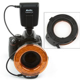 MeiKe FC-110 LED Macro Ring Flash Light for Nikon, Canon, Pentax, Olympus And Panasonic