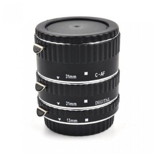 Meike MK-C-AF-A Metal AF Macro Extension Tube Set for Canon