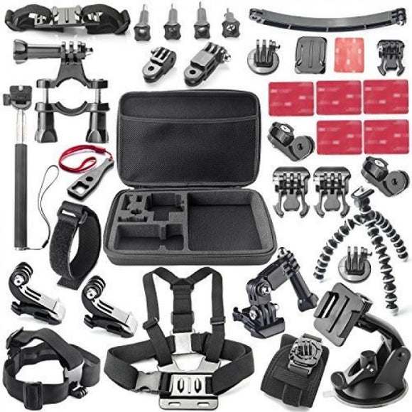Optodio 37-in-1 GoPro Accessories Set for GoPro Hero 7/6/5/4/3+/3
