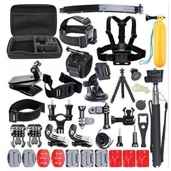 Optodio 50-in-1 Ultimate GoPro Accessories Set for GoPro Hero 7/6/5/4/3+/3