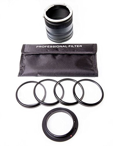 Optodio Macro Starter Kit Plus for Nikon 52mm threadsize