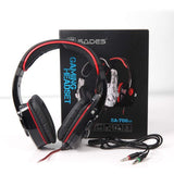 Sades SA – 708GT 3.5mm Gaming Headset – Black/Red