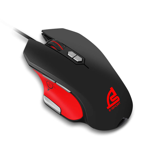 SIGNO GM-917 RGB Lighting 8 Macro Keys Wired Gaming Mouse