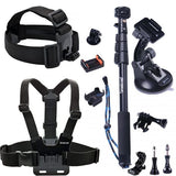 Smatree 13-in-1 Outdoor Sports Accessories Kit for GoPro Hero 7/6/5/4/3+/3/2/1