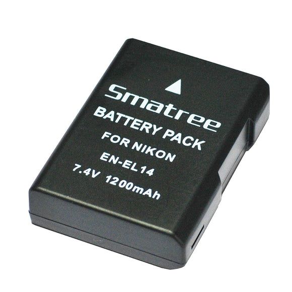 Smatree Nikon EN-EL14 Battery