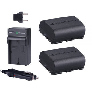 Smatree Canon LP-E6+ Battery and Charger
