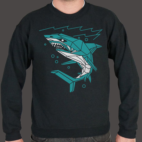 Polygon Shark Sweater (Mens)