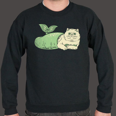 Purr-Maid Cat Mermaid Sweater (Mens)