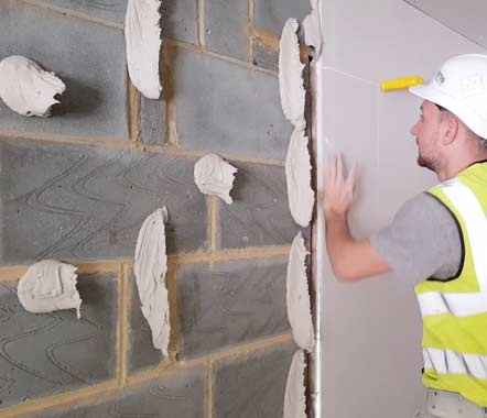 How to Dot and Dab Plasterboard