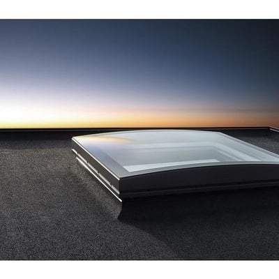 Image of Velux CFP Fixed Curved Glass Rooflight - All Sizes Velux Roof Windows