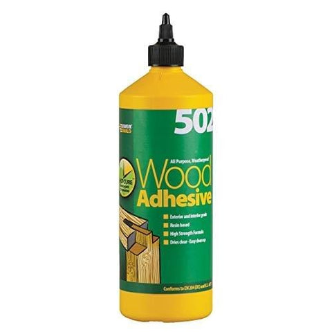 Everbuild 502 Adhesive 1L Tube (25m2) Acoustic Insulation