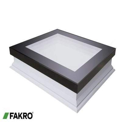 FAKRO DXF-D U8 Fixed Shut Flat Roof Window - All Sizes Fakro Roof Windows