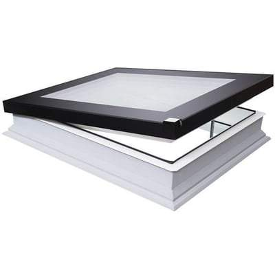 FAKRO DEF-D U8 Electrical Flat Roof Window - All Sizes Fakro Roof Windows