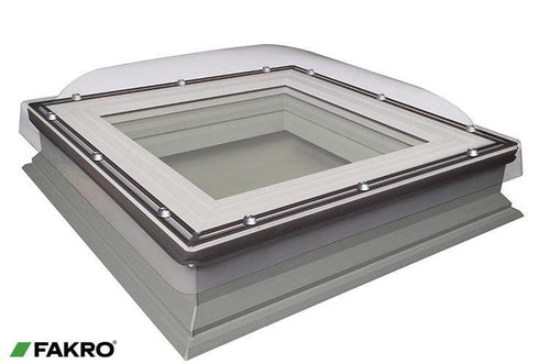 FAKRO DXC-C P4 Secure Fixed Shut Flat Roof Window - All Sizes Fakro Roof Windows