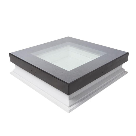 FAKRO DXW-D W6 Fixed Shut Walk on Flat Roof Window - All Sizes Fakro Roof Windows