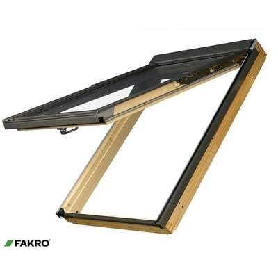 FAKRO FPP-V P2 Natural Pine Preselect Window - All Sizes Fakro Roof Windows