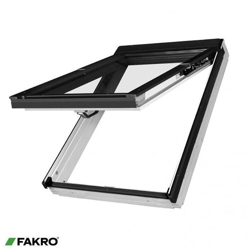 FAKRO FPW-V P2 White Acrylic Coated Pine PreSelect Window - All Sizes Fakro Roof Windows