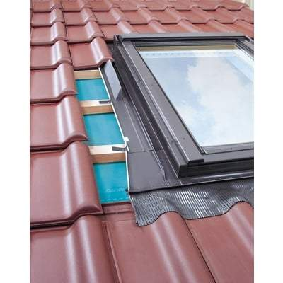 FAKRO EZW-A MOE Flashing For up to 45mm Profiles Tiles - All Sizes Roof Window Flashings