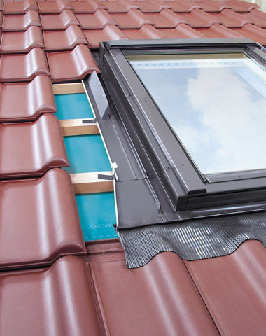 Image of FAKRO EHW-A MOE Flashing For up to 90mm Profiled Tiles - All Sizes Roof Window Flashings