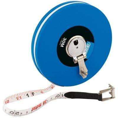 Expert 30m/100ft Fibreglass Measuring Tape Hand Tools
