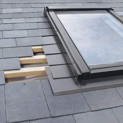 FAKRO ELW MOE Flashing For Natural Non-Interlocking Slate - All Sizes Roof Window Flashings