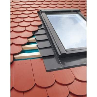 FAKRO EPW MOE Flashing For Plain Tiles up to 16mm - All Sizes Roof Window Flashings