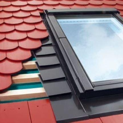 FAKRO EPV Plain Tile Flashing For Plain Tiles up to 16mm - All Sizes Roof Window Flashings