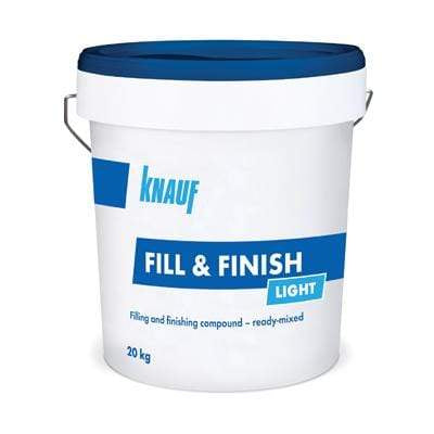 Knauf Fill and Finish Light 20Kg Cement Products