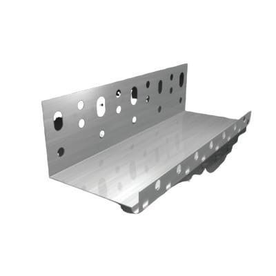 Aluminium 2.5m Starter Track/ Base Profile - All Sizes External Wall Insulation